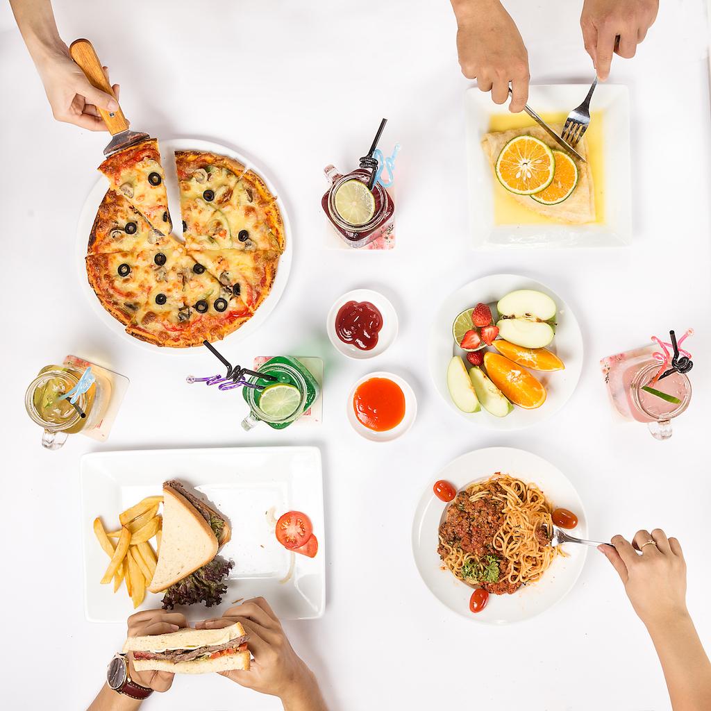 Chụp hình món ăn